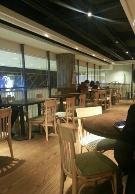 香港レストランの店内