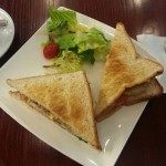 《香港上環ランチ》O Green Cafe オーガニックレストランでヘルシーサンドイッチ