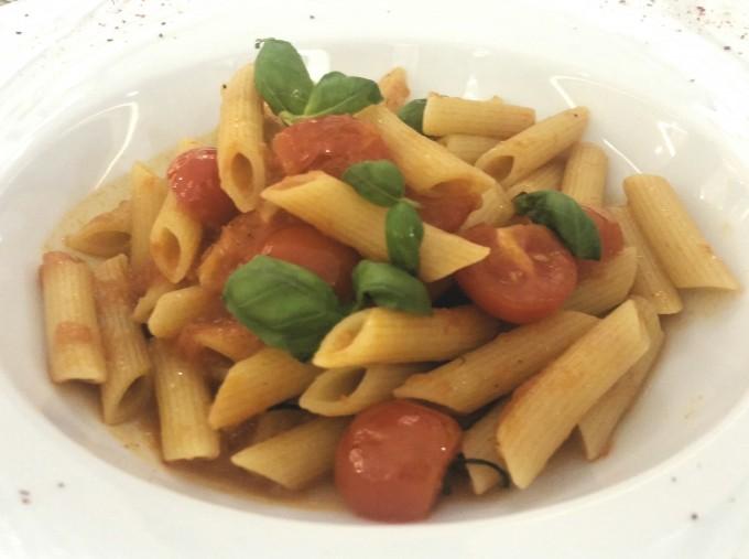 ロブションのトマトパスタ