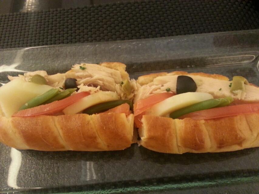 ロブションのサンドイッチ