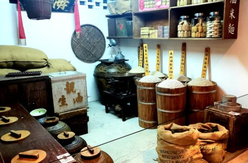 香港の昔のお米屋さんとお醤油屋さん