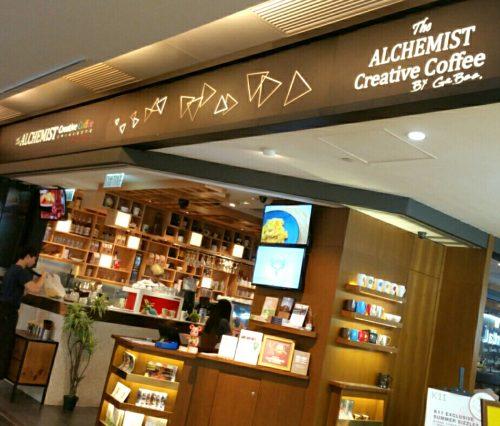 尖沙咀支店のカフェ