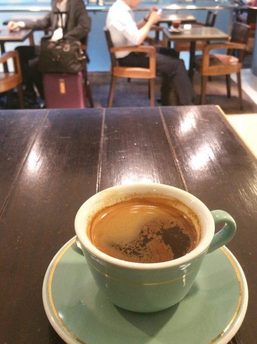 香港のコーヒーショップ