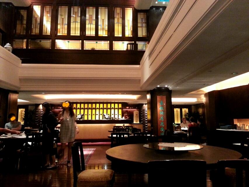 ペニンシュラホテルの飲茶レストラン