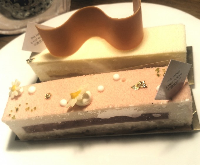 ロブションのケーキ