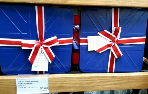 イギリス国旗のお菓子