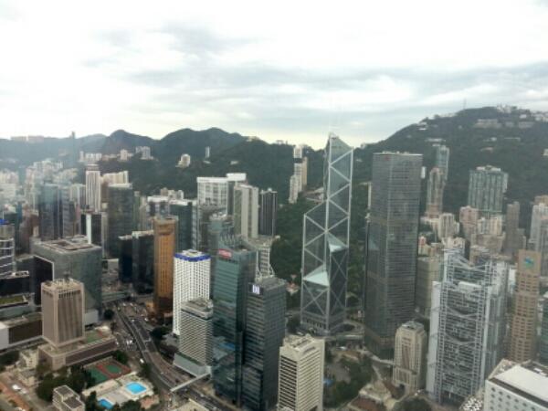 香港の景色