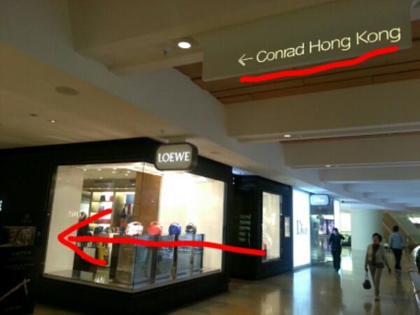 Conrad Hotel Hongkong