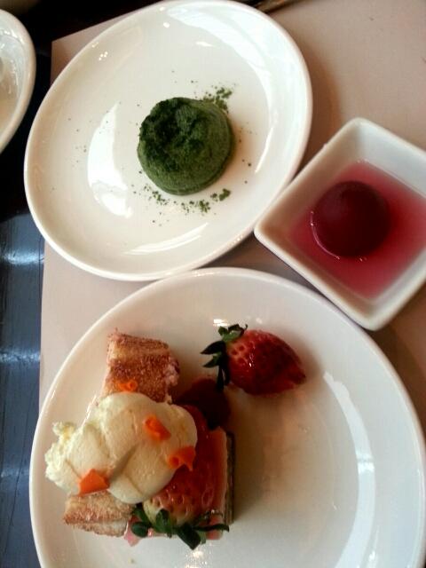 香港ハーバープラザメトロポリスのブッフェのデザート