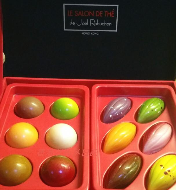 ロブションのチョコレート