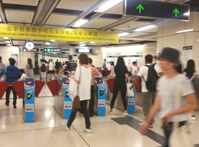香港MTR駅