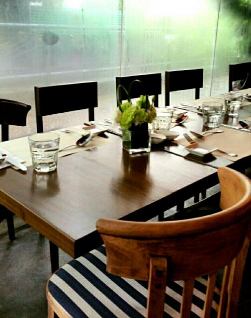 香港レストラン店内
