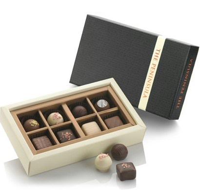 ペニンシュラホテルの人気のチョコレート