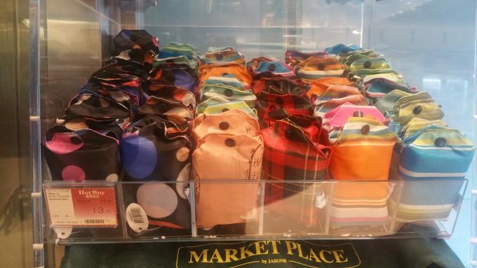 香港バラマキお土産のエコバッグ