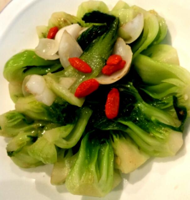 チンゲン菜の炒めモノ