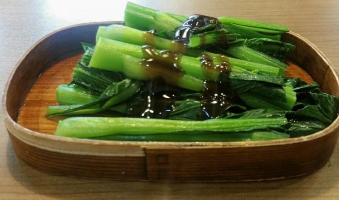茹で香港野菜