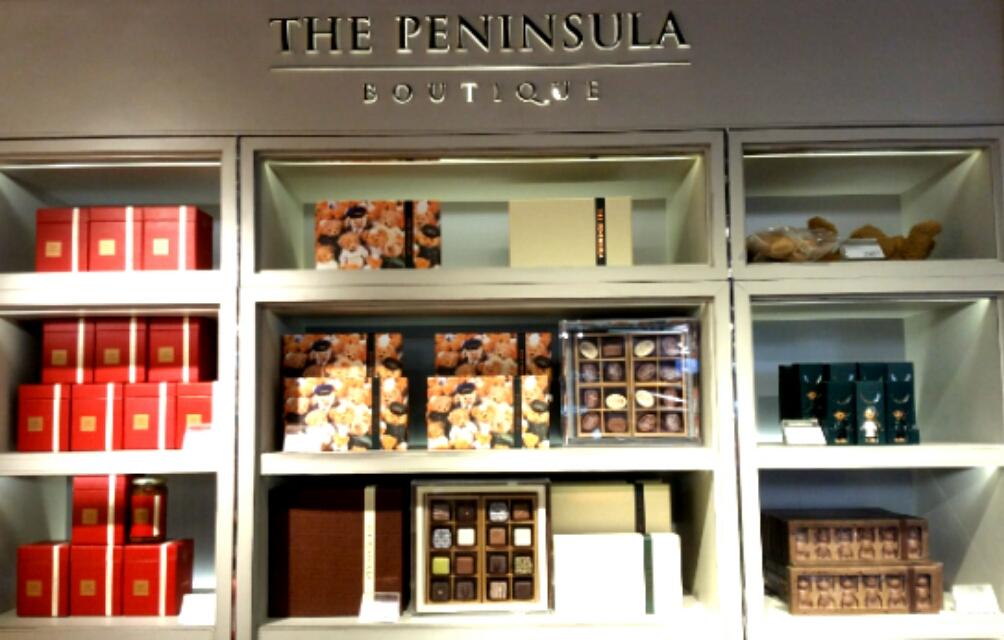ペニンシュラホテルのチョコレートギフト