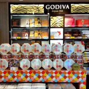 免税店のチョコレート