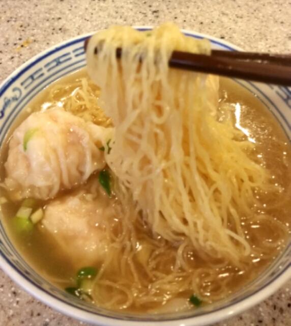 麺の写真アップ