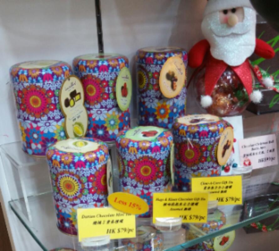 龍島のクッキー土産