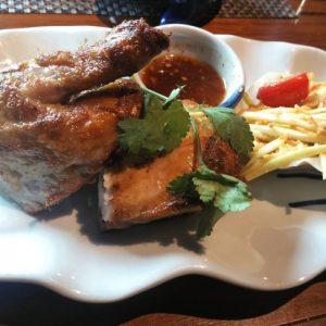 タイ料理チキン