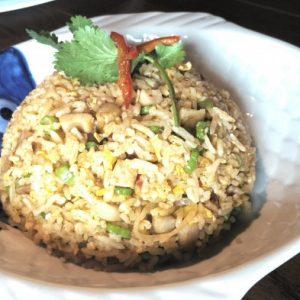 タイ料理のチャーハン