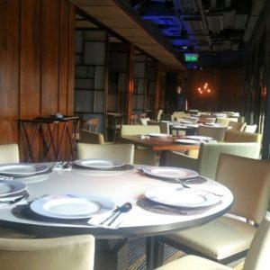 タイ料理レストランのインテリア
