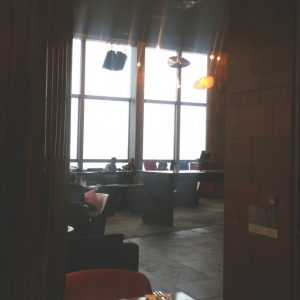 Wホテルのwoobarのインテリア