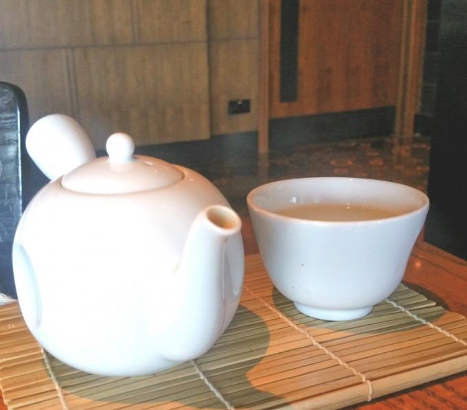 ハイティーのお茶