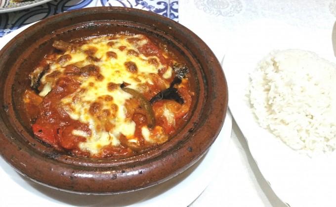 モロッコ風野菜のラザニア