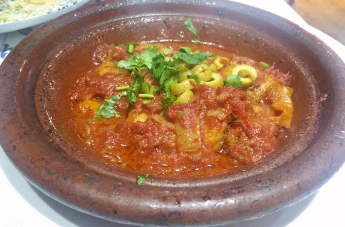 人気の魚のタジン鍋