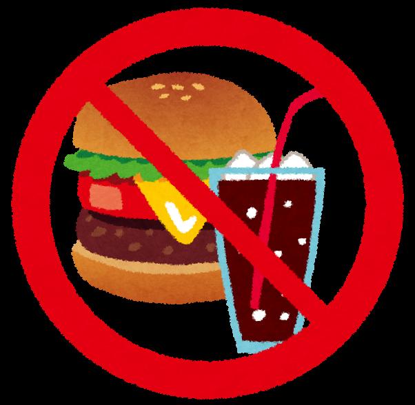 香港地下鉄で飲食禁止のマーク