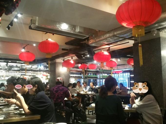 中環の飲茶レストラン