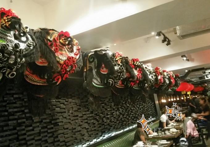 獅子舞の飾り