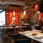 <香港上環ランチ>フランス料理レストランBIBOの芸術的なインテリアにぶったまげる