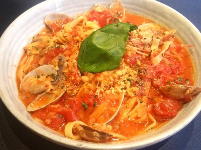 クラムトマトスパゲティー