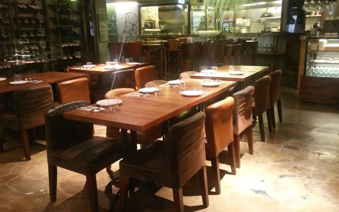 レストランのインテリア