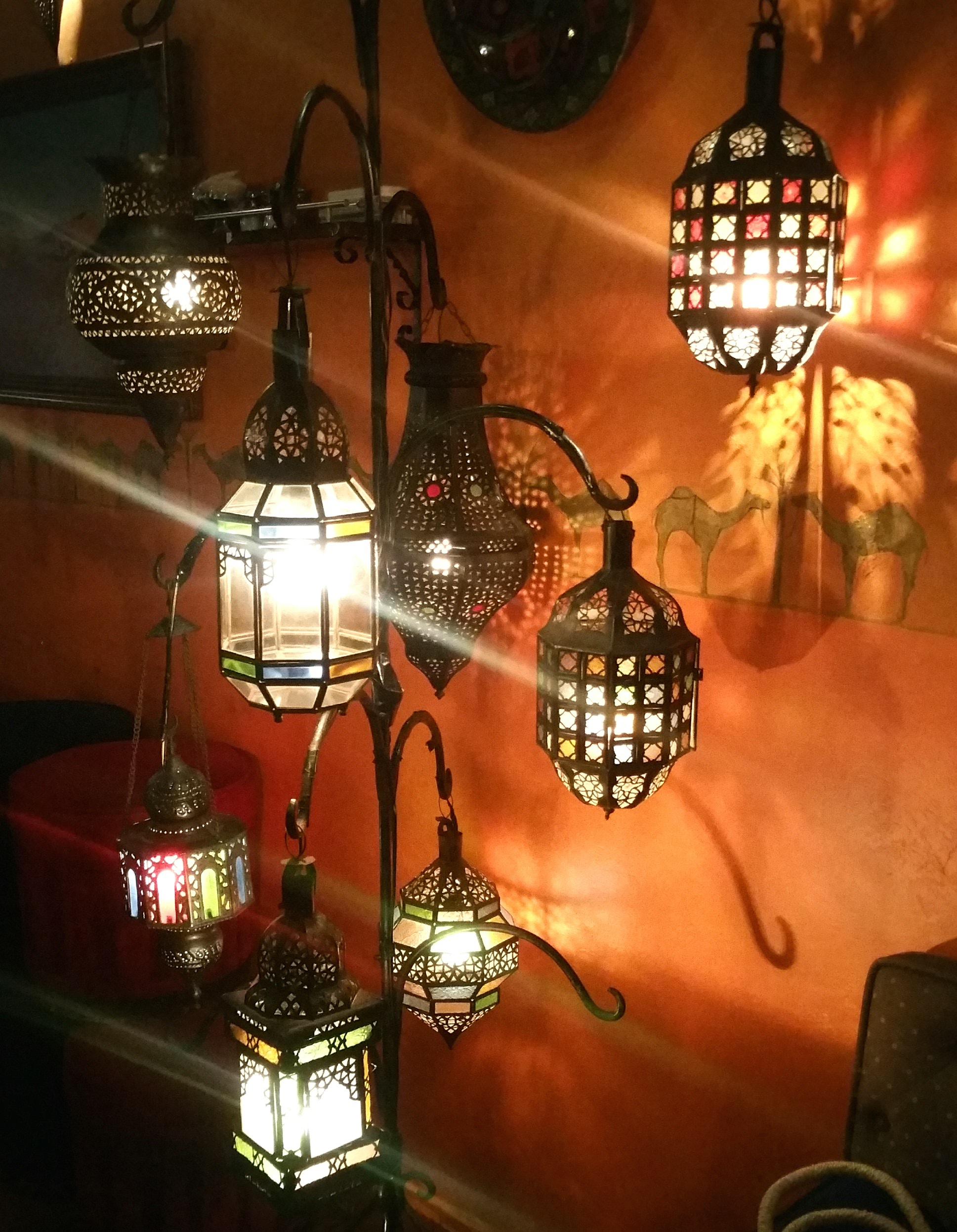 モロッコ風ランプライト