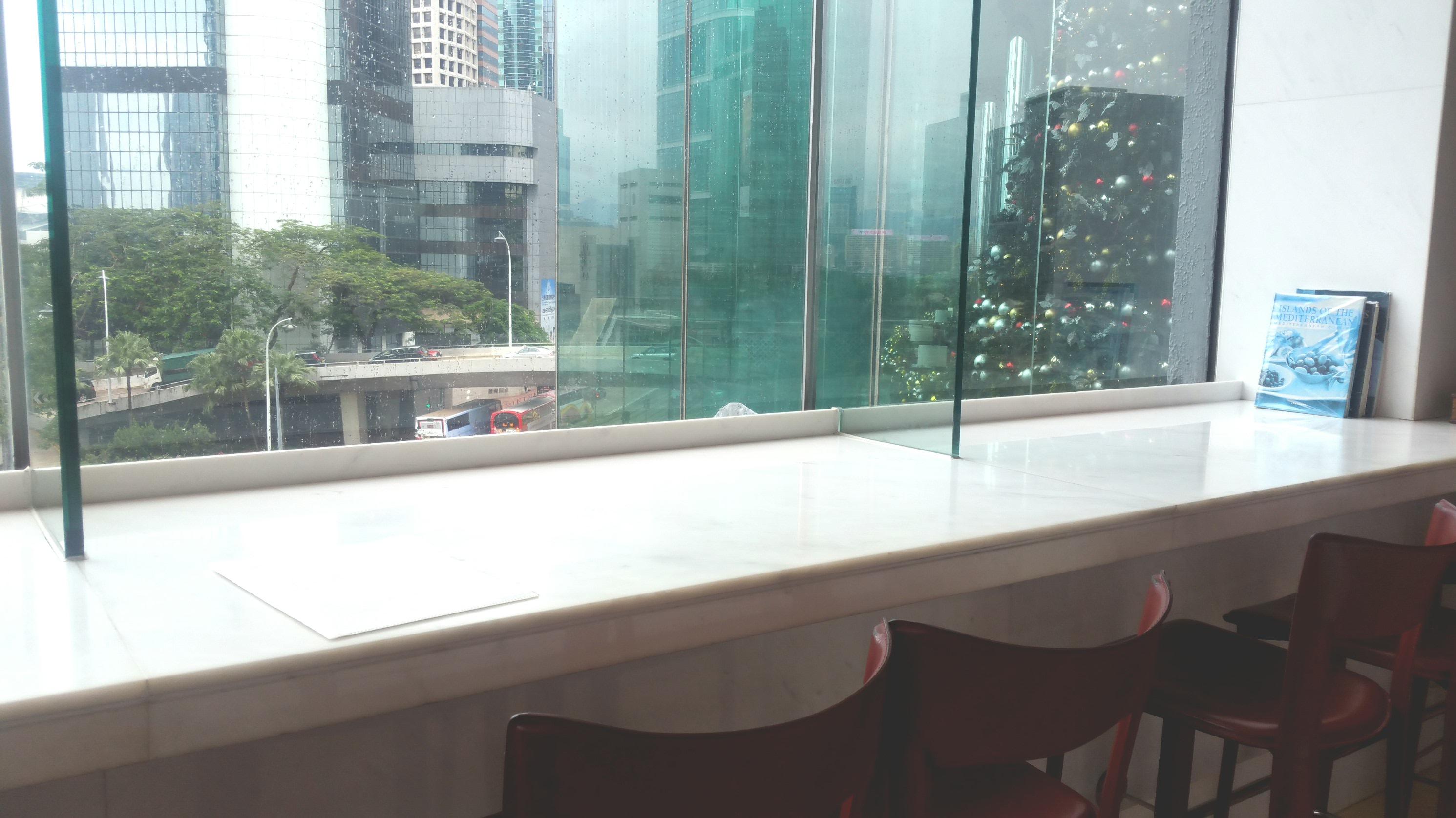 香港シービューのカフェ