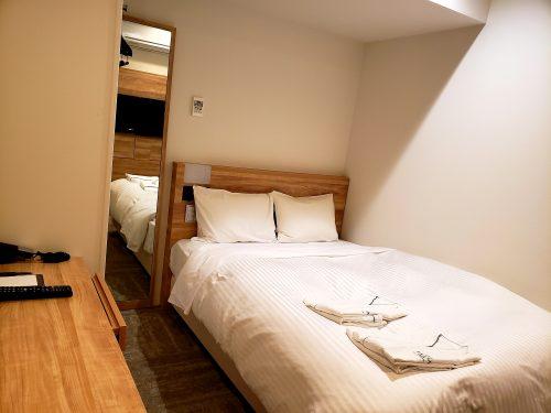 ベッドとパジャマ