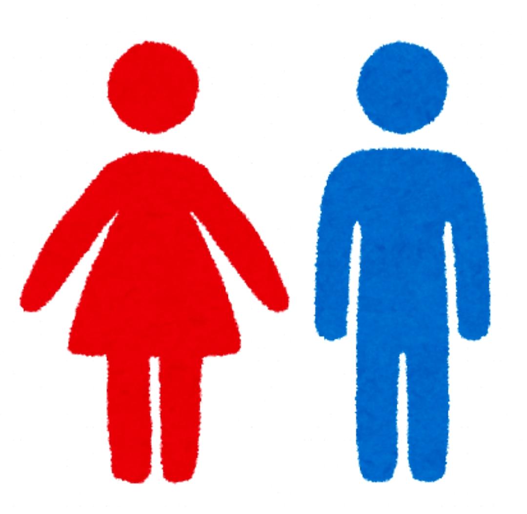 男女のお手洗いマーク