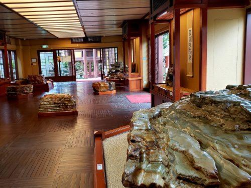 石の展示室