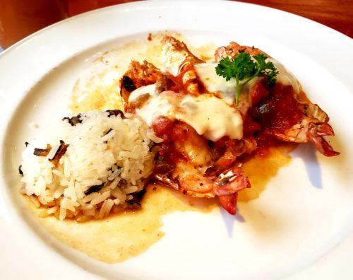 ランチ前菜の海老