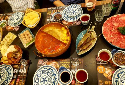 香港火鍋の料理