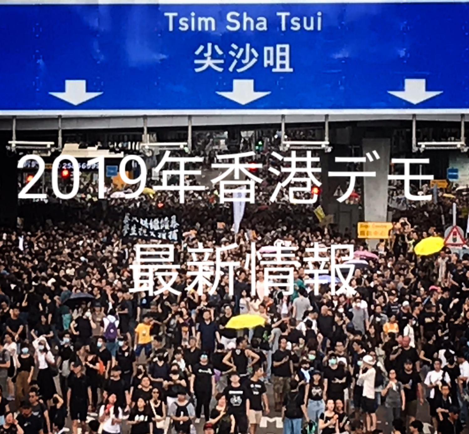 2019年香港デモの写真