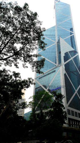 香港の中国銀行