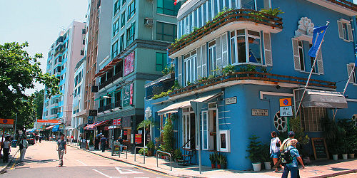 香港スタンレーの街