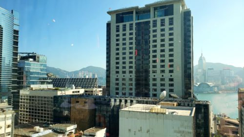 香港九龍からの眺め
