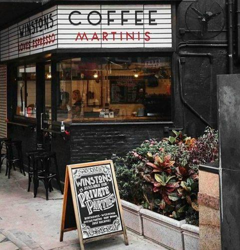 香港のカフェ