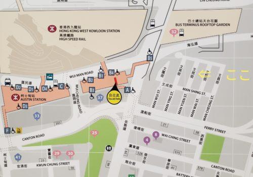 香港地下鉄マップ